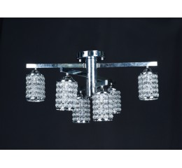 Modern ceiling light with beads - C18-3