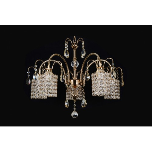 Modern ceiling light with beads - C5-14