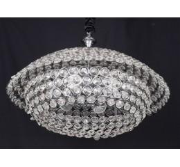 Modern ceiling light with beads - C18-7 (50cm)