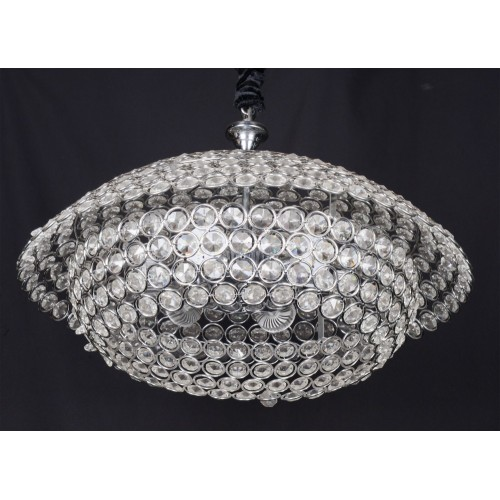 Modern ceiling light with beads - C18-7 (50cm)