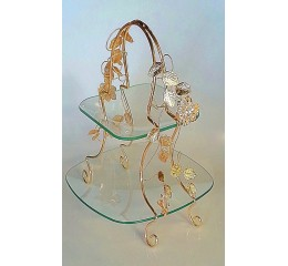 Glas decorative item Gold - CM6