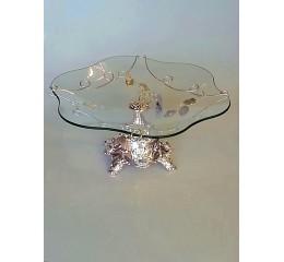 Glas decorative item Silver - CM7