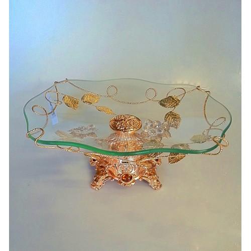Glas decorative item Gold - CM12