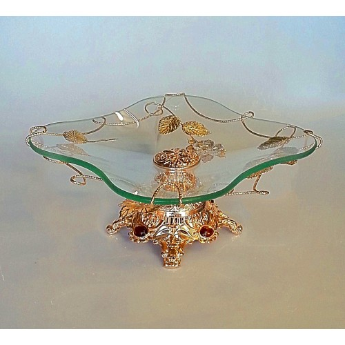 Glas decorative item Gold - CM14
