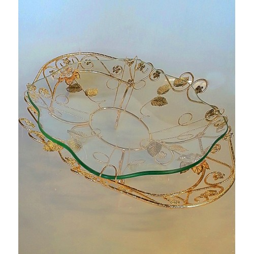 Glas decorative item Gold - CM18