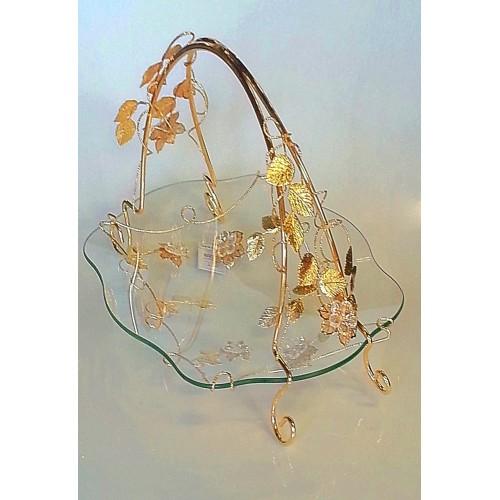Glas decorative item Gold - CM20