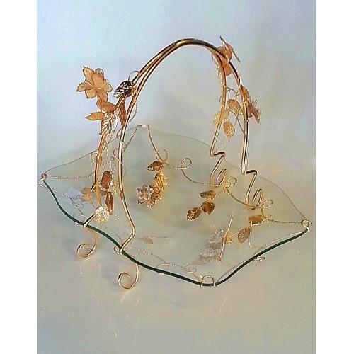 Glas decorative item Gold - CM22