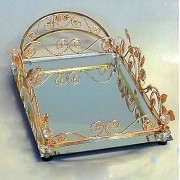 Glas decorative item Gold - CM24