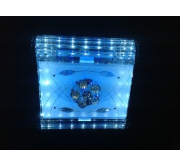 Modern ceiling light with Led and Mp3 with - C7-64(48x48cm)