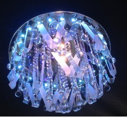 Modern ceiling light with LED and Mp3 - C7-56(50cm)