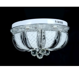 Modern ceiling light with Led and Mp3 - C7-117(50cm)