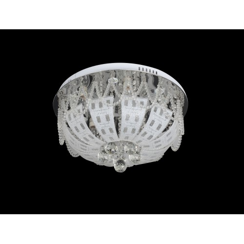 Modern ceiling light with Led and Mp3 - C7-125(50cm)