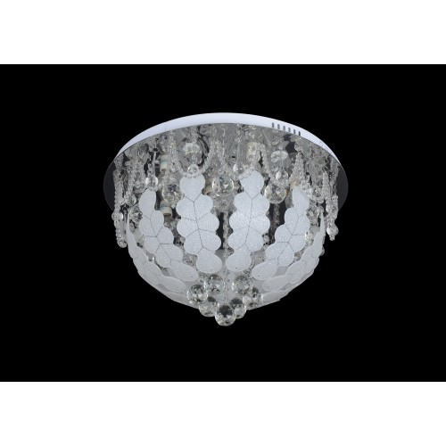 Modern ceiling light with Led and Mp3 - C7-129 (50cm)