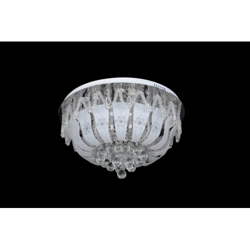 Modern ceiling light with Led and Mp3 - C7-120(60cm)