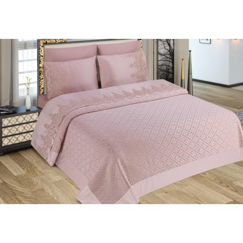 Pike set - Damla - Pink - 230x240cm