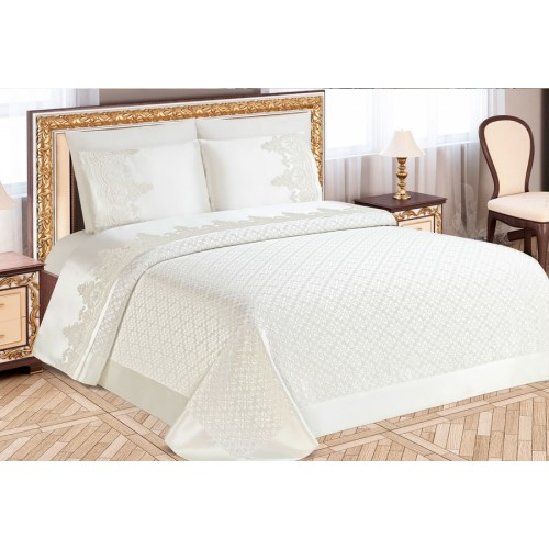 Pike set - Destina - Cream - 230x240cm