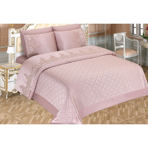Pike set - Ilayda - Pink - 230x240cm
