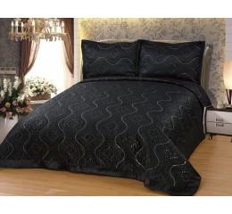 Bedspread- Diamant black 250x260cm