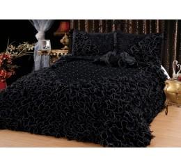 Bedspread Gelincik Deluxe - Black - 250 x 260 cm