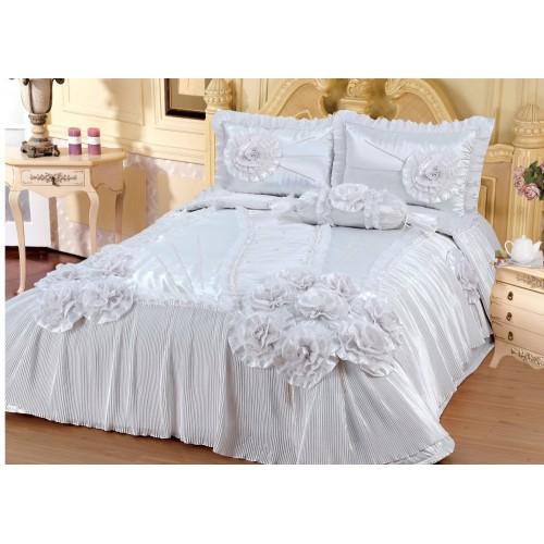 Bedspread Irmak - White 250 x 260 cm