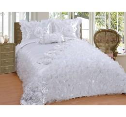 Bedspread-Set Sibel White 250 x 260 cm