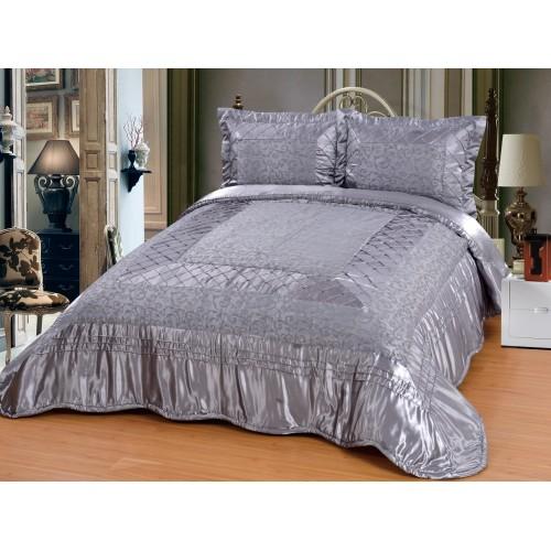 Bedspread Zümrüt Gray - 250x260cm