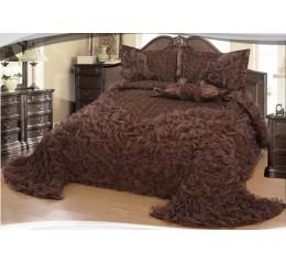Bedspread Gelincik Avantgarde - Brown - 250 x 260 cm
