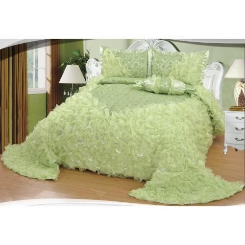 Bedspread Gelincik Avantgarde - Green - 250 x 260 cm