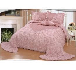 Bedspread Gelincik Avantgarde - Pink - 250 x 260 cm