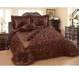 Bedspread-Set Sibel Brown 250cmX260 cm