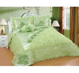 Bedspread-Set Sibel Green 250cmX260 cm