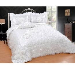 Bedspread-Set Sibel Cream 250cmX260 cm