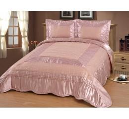 Bedspread-Set Zümrüt Pink - 250 x 260cm