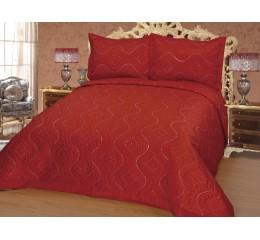 Bedspread Diamant Red - 250 x 260 cm