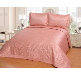Bettüberwurf Diamant Pink - 250 x 260 cm