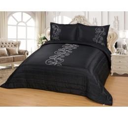 Bedspread - Hayel - Black - 250 x 260 cm