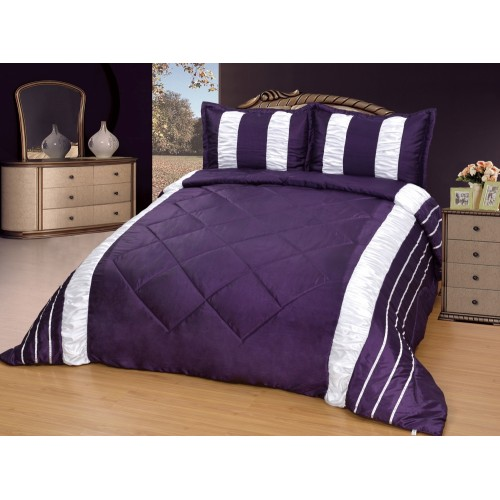 Bedspread - Modern - Purple - 250 x 260 cm