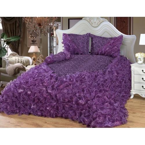 Bedspread Saray ( Purple ) 250 x 260 cm