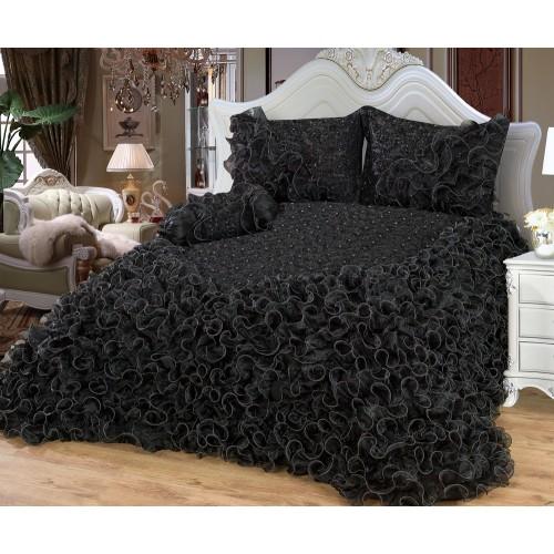 Bedspread Saray ( Black ) 250 x 260 cm