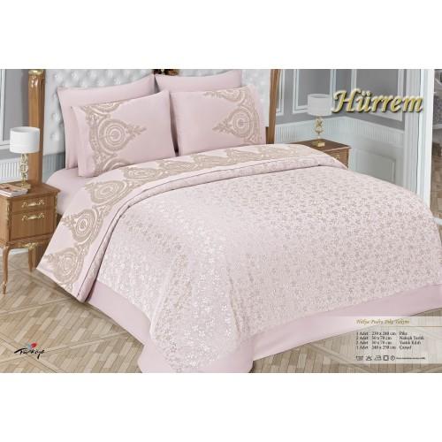 Pike set - Hürrem - Pink - 230 x 240 cm
